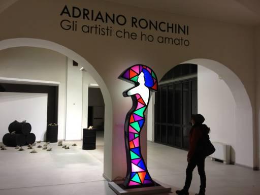 Fino al 7.IV.2013 Adriano Ronchini. Gli artisti che ho amato Terni, CAOS Cento Arti Opificio Siri