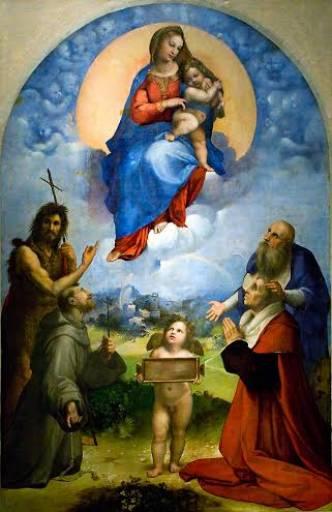 Fino al 26.I.2014 La Madonna di Foligno Monastero di Sant'Anna, Foligno