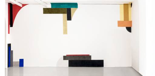 Fino al 31.V.2014 New works for walls Pat Steir e David Tremlett Galleria Alessandra Bonomo, Roma