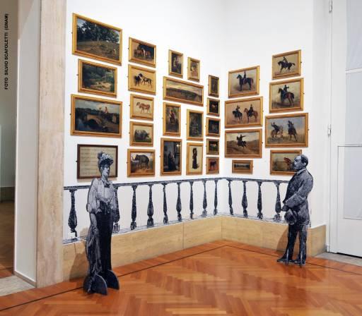 Fino al 2.VI.2014 Interni d'artista Balla Capogrossi Cavaliere Ferrazzi Mazzacurati Morelli Palizzi GNAM – Galleria Nazionale d'Arte Moderna, Roma