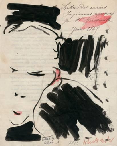 Fino al 30.VI.2014 Alechinsky en Bataille Galerie Bordas, Venezia