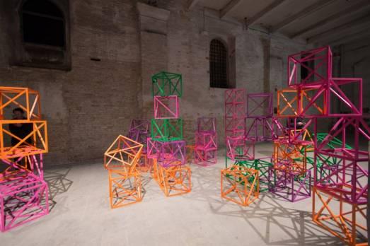 Rashid Araeen, Viva Arte Viva, Arsenale 57ma Biennale di Venezia