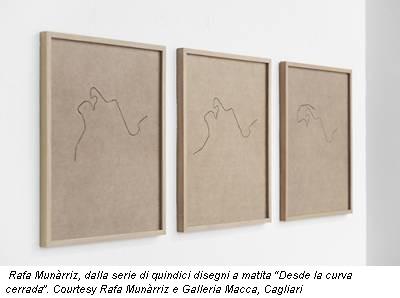 Rafa Munàrriz, dalla serie di quindici disegni a matita