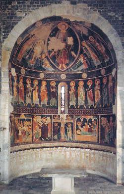Affreschi Basilica di Saccargia