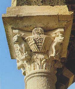 Capitello Basilica di Saccargia