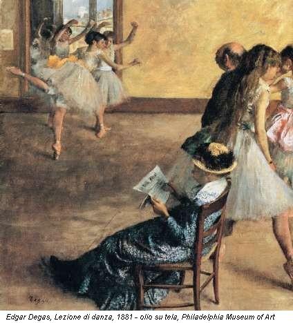 lezione di danza