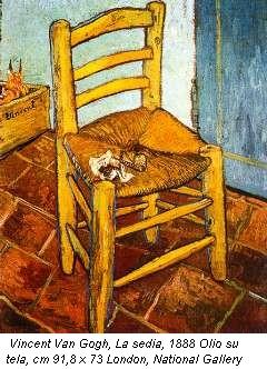 opera - Vincent Van Gogh – La sedia di Vincent - Exibart.com