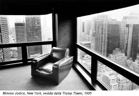 Mimmo Jodice, New York, veduta dalla Trump Tower, 1985