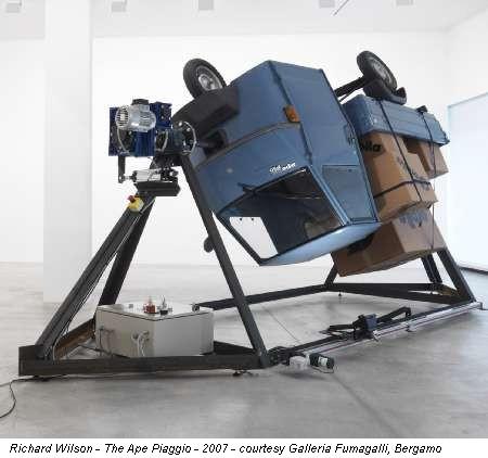 Fino Al 31 I 2008 Richard Wilson Bergamo Galleria Fumagalli