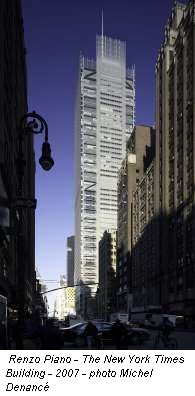 Renzo piano - the new york times building - 2007 - photo michel