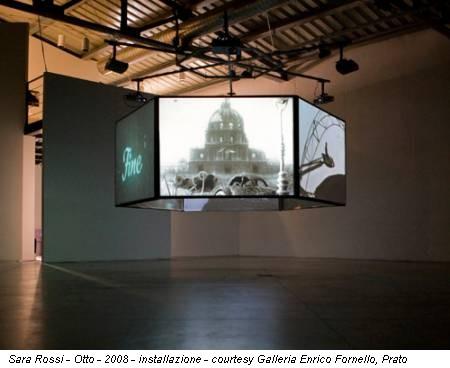 Sara Rossi - Otto - 2008 - installazione - courtesy Galleria Enrico Fornello, Prato