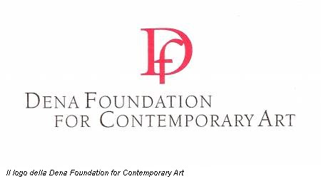 Il logo della Dena Foundation for Contemporary Art