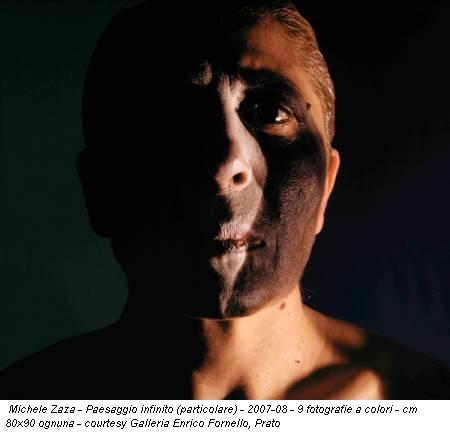 Michele Zaza - Paesaggio infinito (particolare) - 2007-08 - 9 fotografie a colori - cm 80x90 ognuna - courtesy Galleria Enrico Fornello, Prato