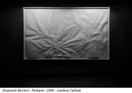 Emanuele Becheri - Release - 2006 - courtesy l'artista