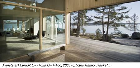 Architettura mostre finnish architecture 0607 roma for Case progettate da architetti