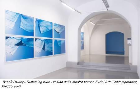 Benoît Pailley - Swimming blue - veduta della mostra presso Furini Arte Contemporanea, Arezzo 2009