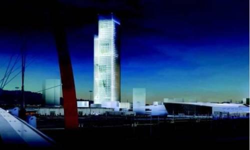 La nuova mole presentato a torino il grattacielo di for Grattacielo torino fuksas