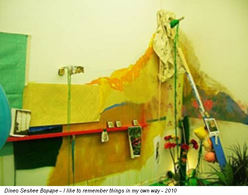 Dineo Seshee Bopape - I like to remember things in my own way - 2010