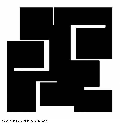 Il nuovo logo della Biennale di Carrara
