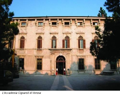 First step a verona accademia cignaroli e gallerie for Accademia verona