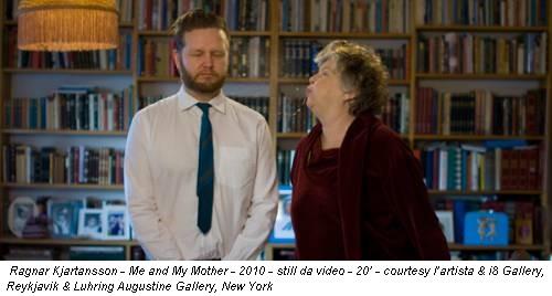 Ragnar Kjartansson - Me and My Mother - 2010 - still da video - 20' - courtesy l'artista & i8 Gallery, Reykjavik & Luhring Augustine Gallery, New York
