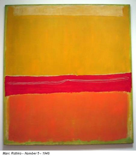 Marc Rothko - Number 5 - 1948