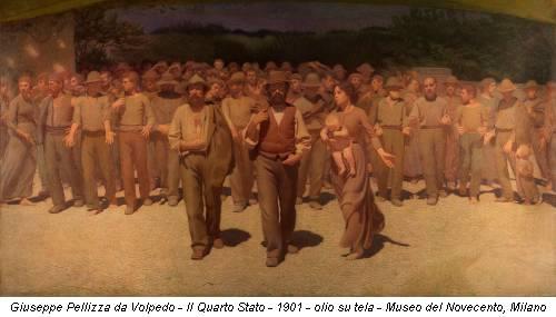 Giuseppe Pellizza da Volpedo - Il Quarto Stato - 1901 - olio su tela - Museo del Novecento, Milano