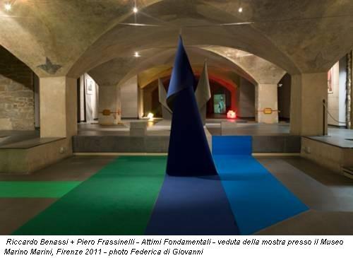 Riccardo Benassi + Piero Frassinelli - Attimi Fondamentali - veduta della mostra presso il Museo Marino Marini, Firenze 2011 - photo Federica di Giovanni