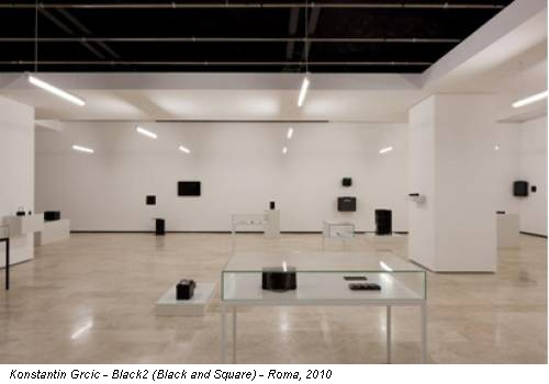 Konstantin Grcic - Black2 (Black and Square) - Roma, 2010