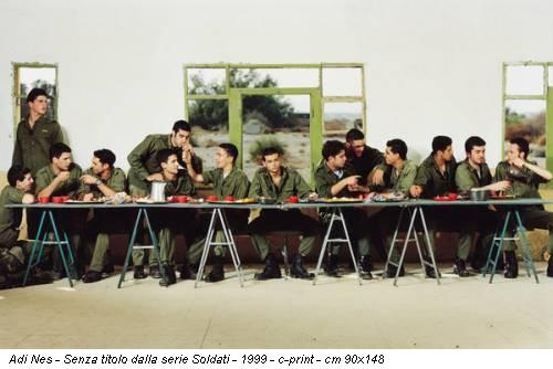 Adi Nes - Senza titolo dalla serie Soldati - 1999 - c-print - cm 90x148