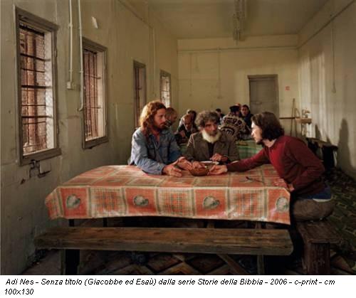 Adi Nes - Senza titolo (Giacobbe ed Esaù) dalla serie Storie della Bibbia - 2006 - c-print - cm 100x130