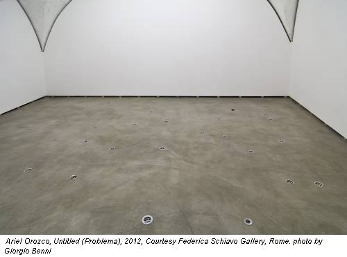 Ariel Orozco, Untitled (Problema), 2012, Courtesy Federica Schiavo Gallery, Rome. photo by Giorgio Benni