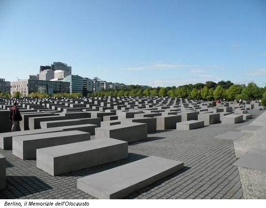 Berlino, il Memoriale dell'Olocausto