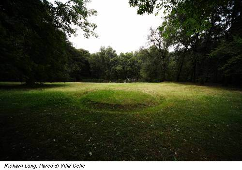 Richard Long, Parco di Villa Celle