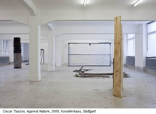Oscar Tuazon, Against Nature, 2009, Kunstlerhaus, Stuttgart