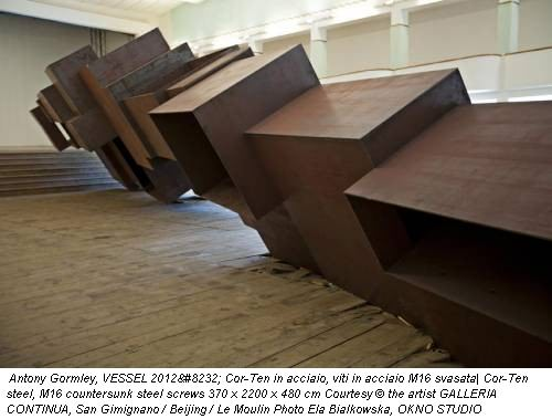 Antony Gormley, VESSEL 2012