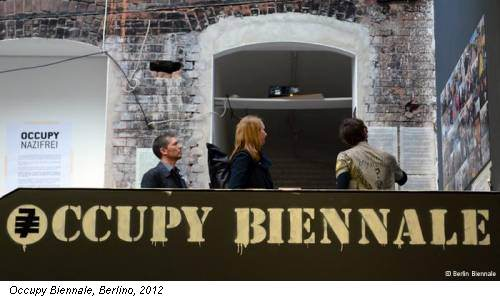 Occupy Biennale, Berlino, 2012