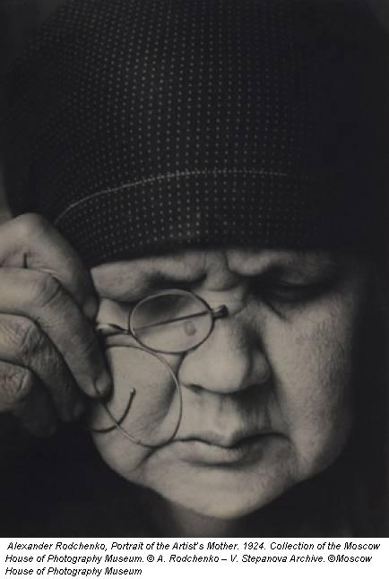 Alexander Rodchenko, Portrait of the Artist's Mother. 1924. Collection of the Moscow House of Photography Museum. © A. Rodchenko – V. Stepanova Archive. ©Moscow House of Photography Museum