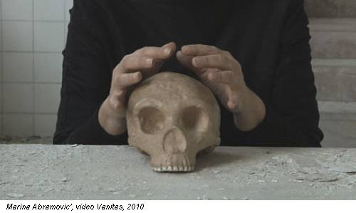 Marina Abramovic', video Vanitas, 2010