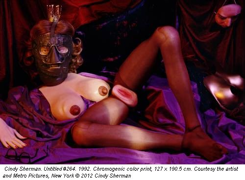 Cindy Sherman. Untitled #264. 1992. Chromogenic color print, 127 x 190.5 cm. Courtesy the artist and Metro Pictures, New York &copy; 2012 Cindy Sherman