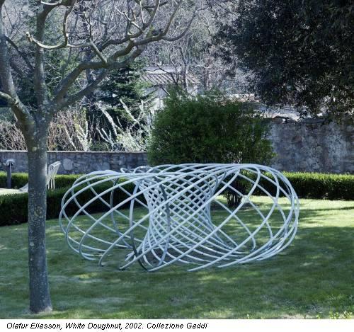 Olafur Eliasson, White Doughnut, 2002. Collezione Gaddi