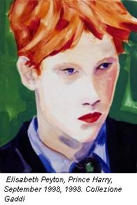 Elisabeth Peyton, Prince Harry, September 1998, 1998. Collezione Gaddi