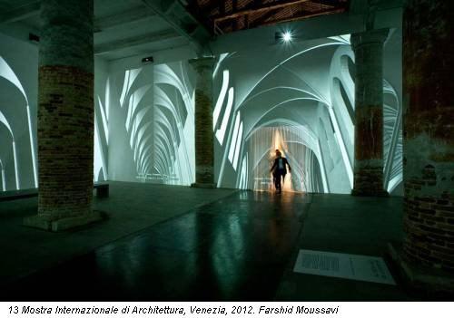 13 Mostra Internazionale di Architettura, Venezia, 2012. Farshid Moussavi