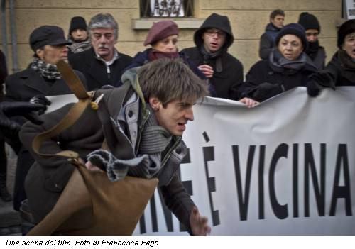 Una scena del film. Foto di Francesca Fago