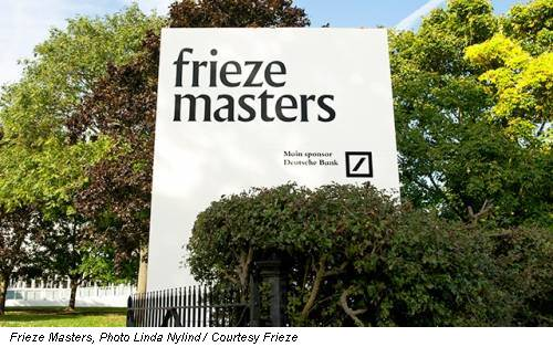 Frieze Masters, Photo Linda Nylind / Courtesy Frieze
