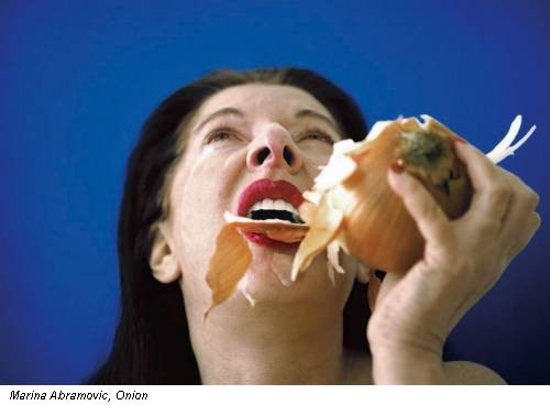 Marina Abramovic, Onion