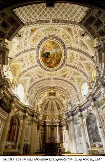 SCICLI, abside San Giovanni Evangelista (ph. Luigi Nifosì), LGT