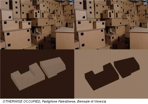 OTHERWISE OCCUPIED, Padiglione Palestinese, Biennale di Venezia