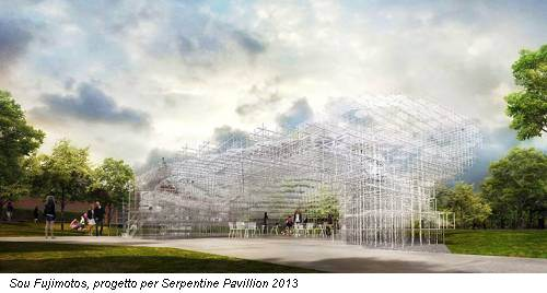 Sou Fujimotos, progetto per Serpentine Pavillion 2013