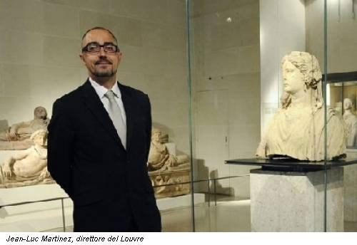 Jean-Luc Martinez, direttore del Louvre